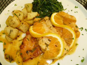 Orange & Herb Chicken