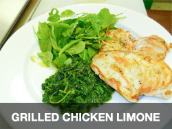 Grilled Chicken Limone
