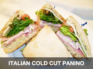Italian Cold Cut Panino